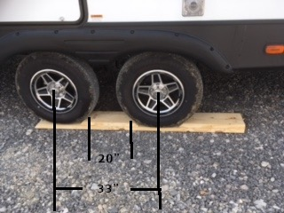 My DIY Side-to-Side Camper or RV Leveler that costs less than $ 15