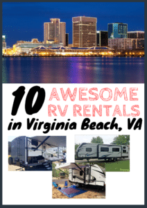 RV rental Virginia beach
